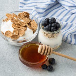 Yogur casero con miel